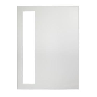 Ventana rectangular LED lighted wall mirror