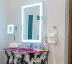 Mirrors as room jewelry